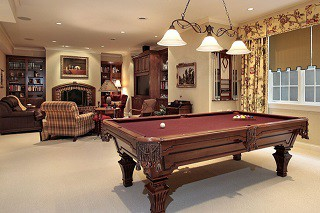 Billiard table assembly with perfect leveling in Roanoke content img3